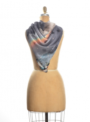 Young British Designers: Coleridge Square Silk Scarf - last one by Klements