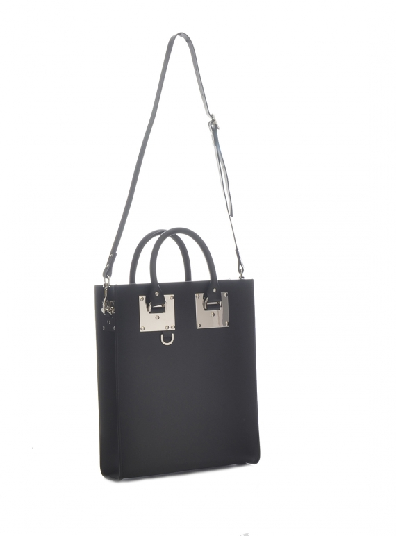 64048f3483b7 Young British Designers  BLACK ALBION MINI TOTE by Sophie Hulme