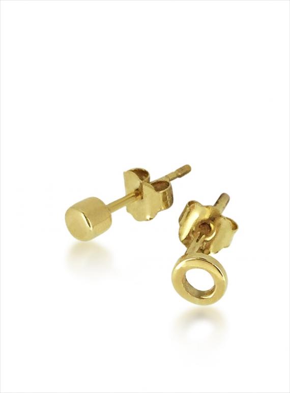 7c246b3b6 Gold Hug Studs by Maya Magal / Jewellery / Earrings | Young British ...