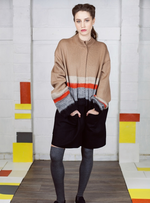 Young British Designers: A Statement Coat - last one by Caitlin Charles-Jones