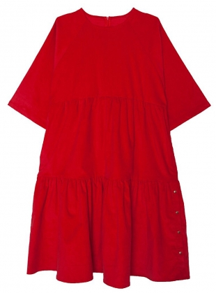 Young British Designers: Poppy Red MICHAEL Dress - Last One by LF Markey