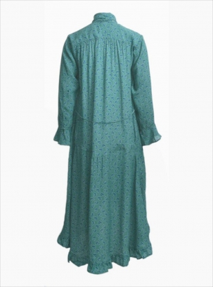 Young British Designers: ELENI SCARF DRESS in Aqua - last one by Belize