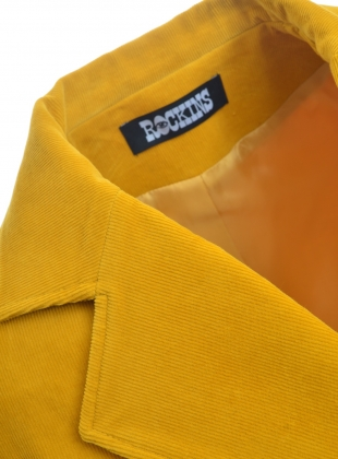 Young British Designers: CLASSIC SUNNY VELVET BLAZER - Last one by Rockins