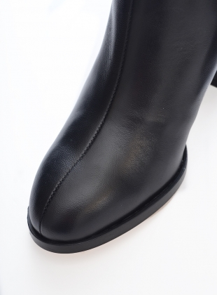 Young British Designers: Spirit Boot in Black - last pair  by Dear Frances
