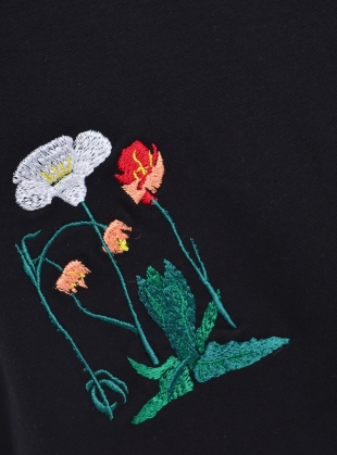 Young British Designers: SISSINGHURST BOUQUET Turtleneck Cotton Jersey - Sold Out by Bruta