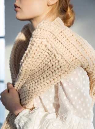 Young British Designers: Gentle Soul Knit by Kelly Love