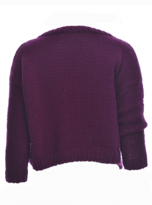 Young British Designers: ELLA Hand-Knit Jumper - last one by Paola Rodriguez
