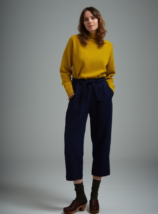 Young British Designers: Malin Tie Waist Trousers by SIDELINE