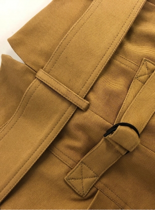 Young British Designers: RACHEL Trouser in Camel Cotton by Eudon Choi