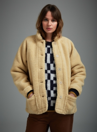 Young British Designers: PEP Teddy Jacket - sold out by SIDELINE