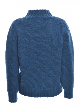 Young British Designers: Inishowen Tweed Sweater in Opal by McConnell