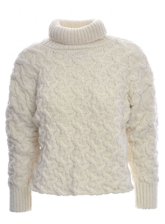 Young British Designers: Westport Aran Sweater - Last one by McConnell