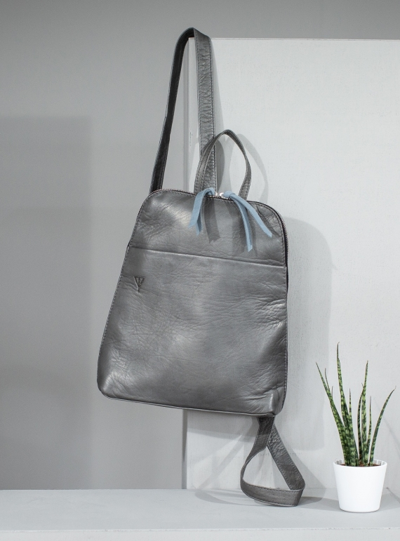 Young British Designers: BESSIE Rucksack in Storm by Taylor Yates