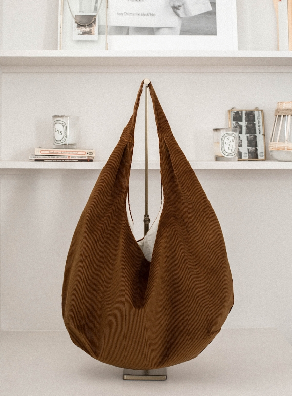 Drop Bag in Camel