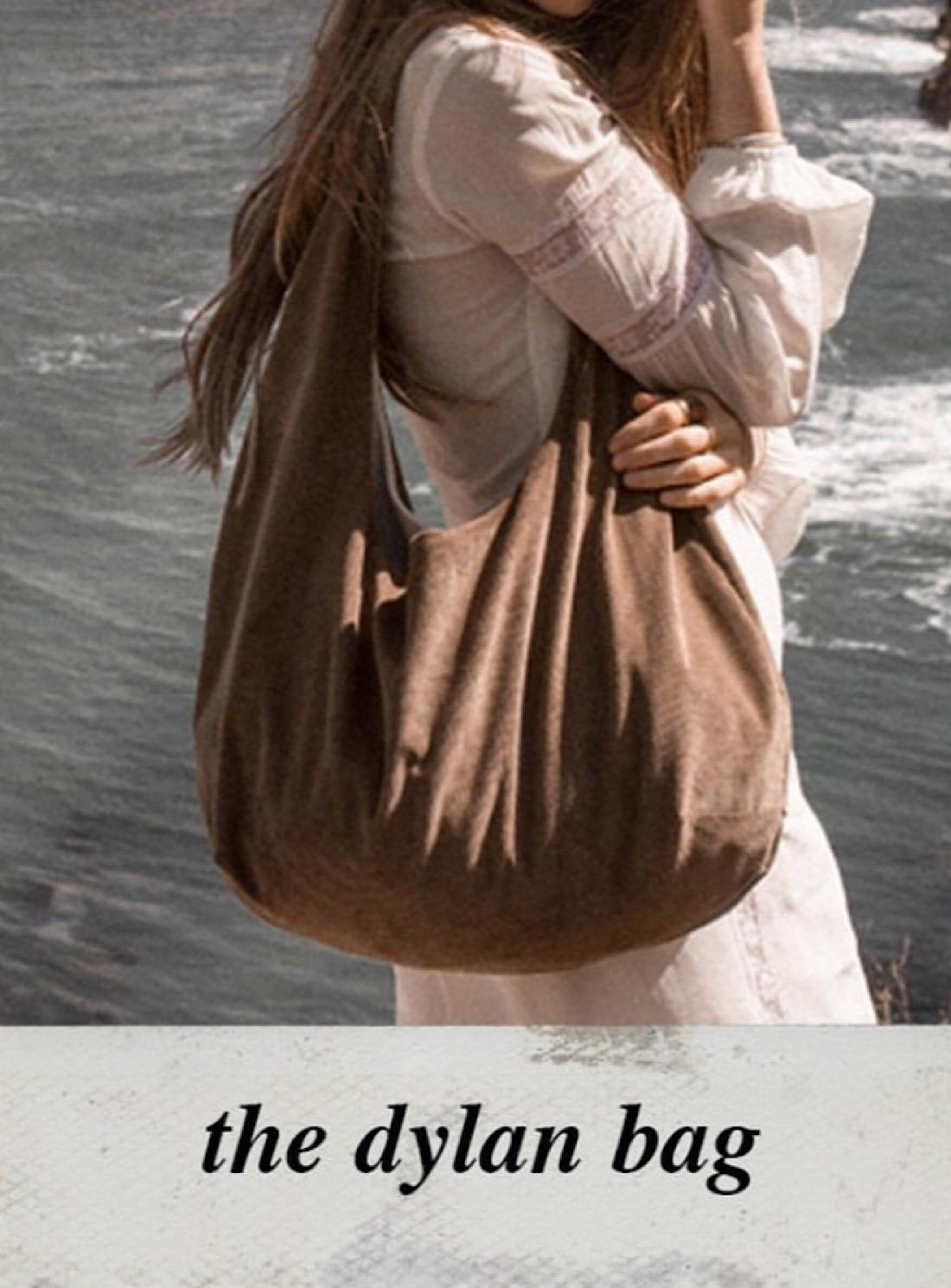 DYLAN VEGAN BAG in Camel - Last one by Zephyr