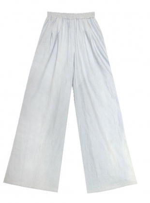 Young British Designers: LACHIE Trousers in Chambray by LF Markey
