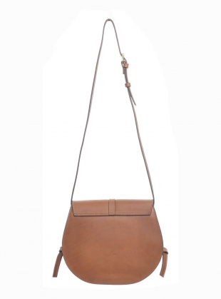 Young British Designers: ALEK Classic Tan Saddle Bag - last one by Folk