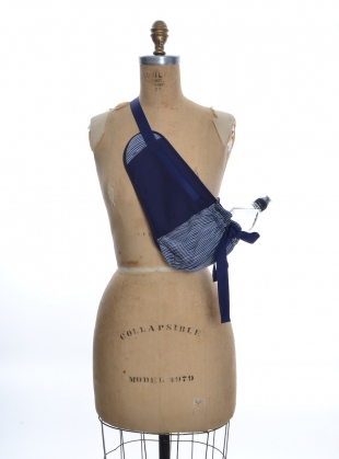 Young British Designers: Navy Water Carrier BUM Bag by Steven Tai