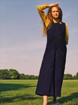 Young British Designers: CORIN BOILERSUIT IN NAVY - last one by LF Markey