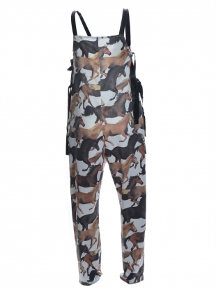 Young British Designers: WILD HORSES JUMPSUIT by Simeon Farrar
