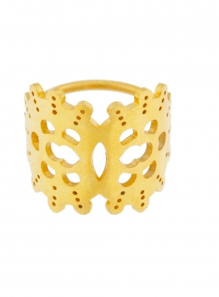 Young British Designers: GWENDOLYN Gold Ring by Joanna Cave