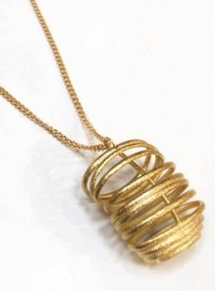 Young British Designers: FLOSSIE Pendant Necklace by Oddical