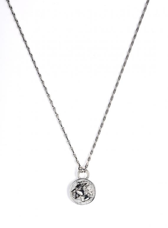 Silver Lioness Pendant