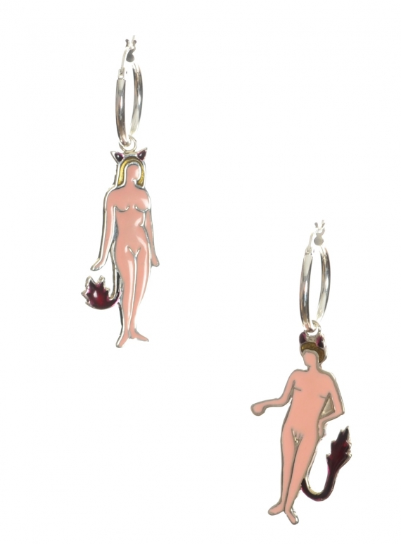 Young British Designers: Devil Couple Earrings - sold out by Clio Peppiatt