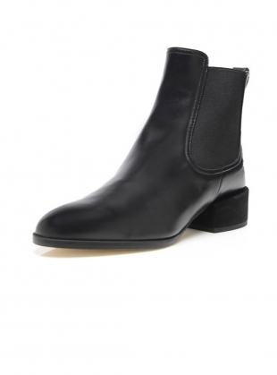 Young British Designers: GEM Ankle Boot in Black by Dear Frances