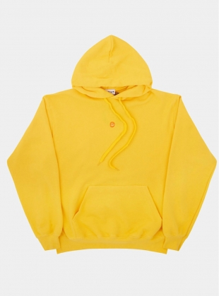 Young British Designers: Yellow Crab Bisque Hoodie - last one by Bruta