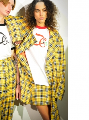 Young British Designers: COLA RINGER TEE by Caplan Entwisle