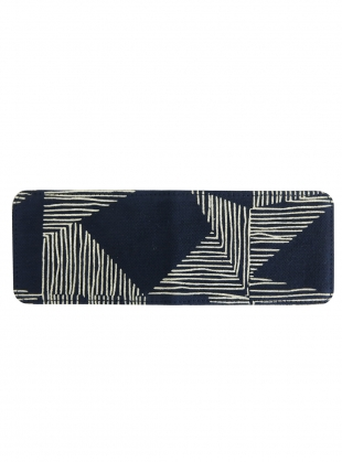Young British Designers: TRAVEL CARD HOLDER. Navy Kindred Print by Kate Sheridan