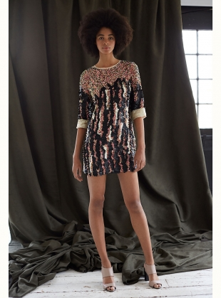 Young British Designers: MISCHA MINI DRESS by MANÉ
