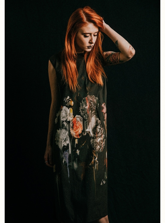 Young British Designers: BEAUTY IN DECAY DRESS 1 by IA London