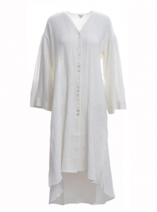 Young British Designers: MATHILDE Hand-Loomed Shirt Dress by Belize