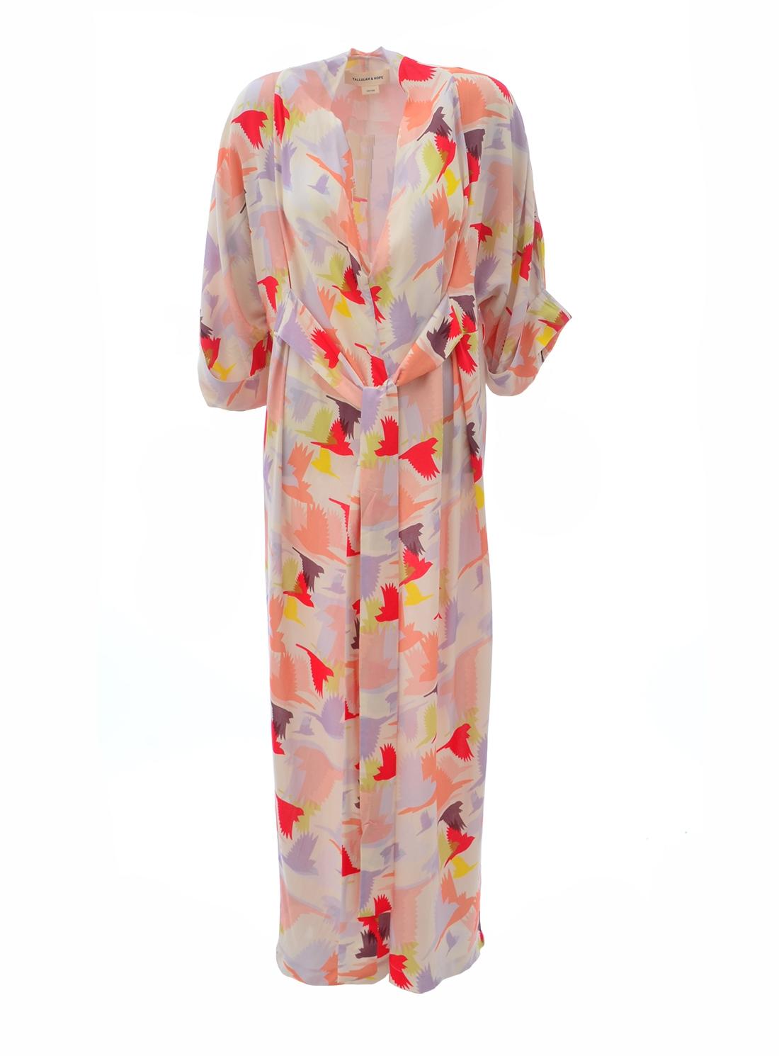 GLORIA KIMONO DRESS. Doves - Last one by Tallulah & Hope